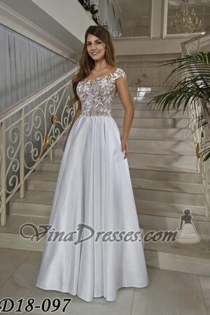 Vina Dresses. Свадебное платье D18-097