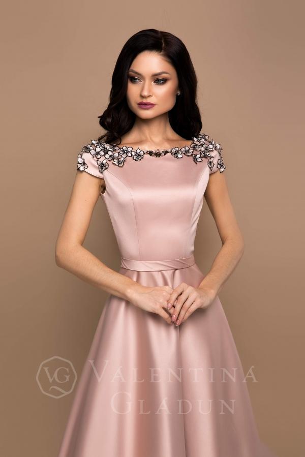 Valentina Gladun. Вечернее платье Maskara Cappuccino