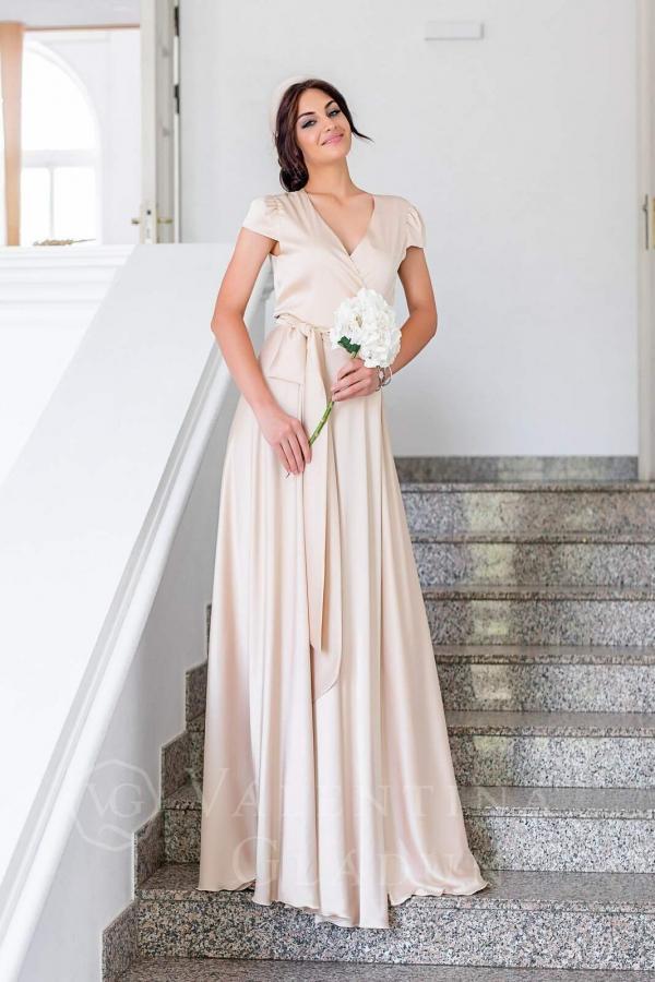 Valentina Gladun. Вечернее платье Queen Nude