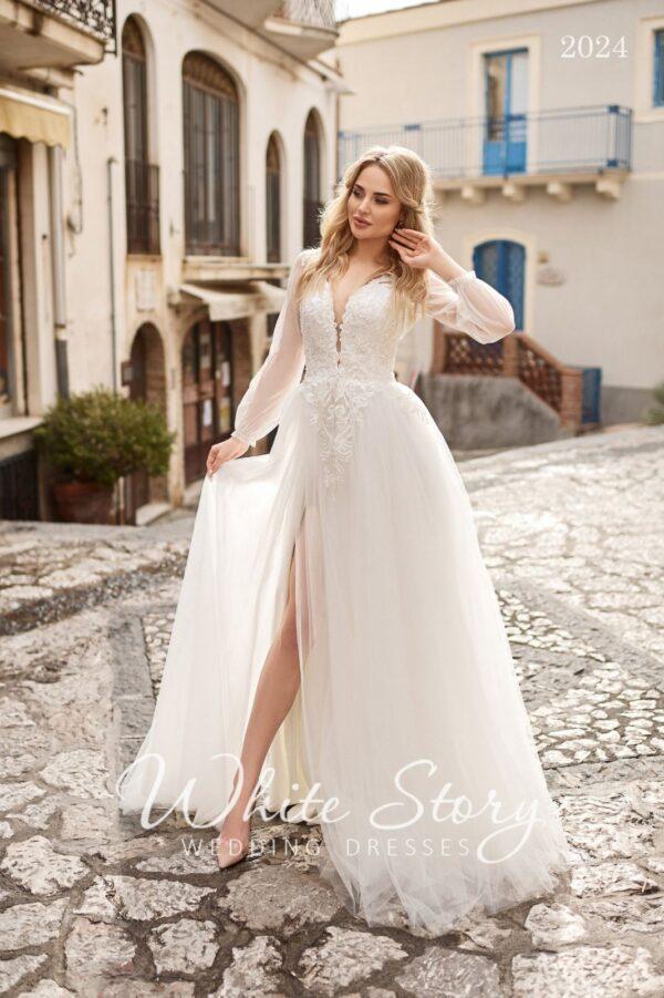White Story. Свадебное платье 2024
