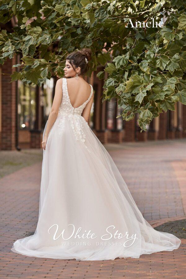 White Story. Свадебное платье Amelie